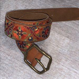 Lucky Brand multi color belt